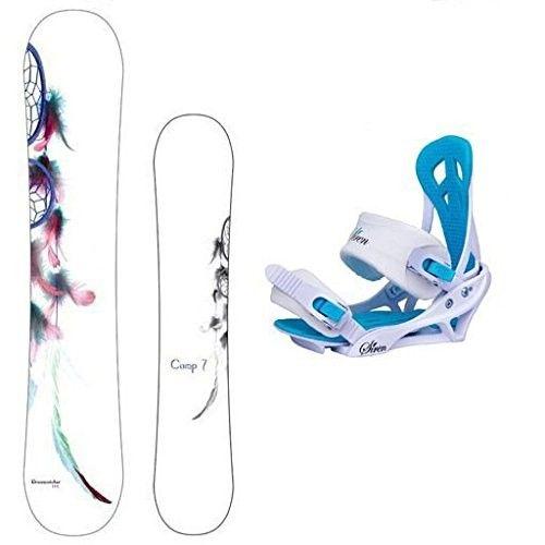 New 2017 Camp Seven Dreamcatcher Snowboard +Mystic Bindings Women's Snowboard Package - Best Ski Price