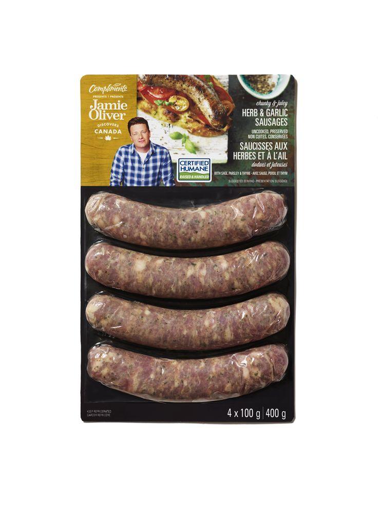 SOBEYS INC. / Compliments presents Jamie Oliver Sausages