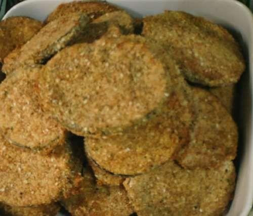 Milanesas de berenjenas al horno receta - Recetas de Allrecipes