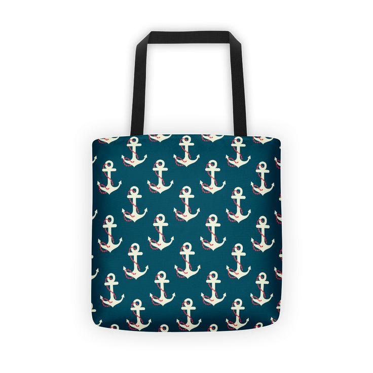 Retro Nautical Tote bag