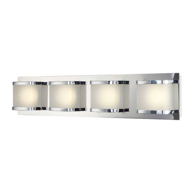 Alico BVL4004-10-15 Bandeau 4 Light ADA LED Vanity Lights In Chrome With Rounded Glass is made by the brand Alico and is a member of the Bandeau collection. It has a part number of BVL4004-10-15.