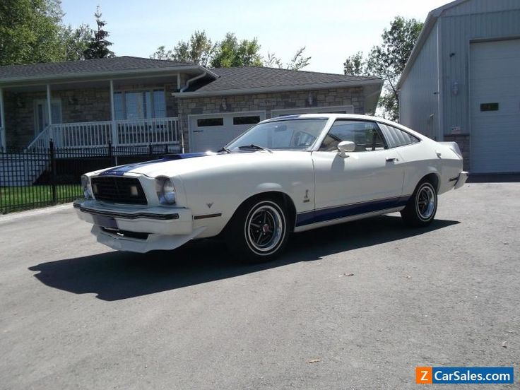 1977 Ford Mustang 4-SPEED COBRA  II #ford #mustang #forsale #canada