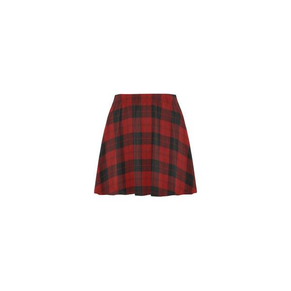 SpikeRule School Rock Mini Skating Skirt (Model D36) ($26) ❤ liked on Polyvore featuring skirts, mini skirts, red plaid mini skirt, mini skirt, tartan plaid skirt, red tartan mini skirt and red tartan skirt