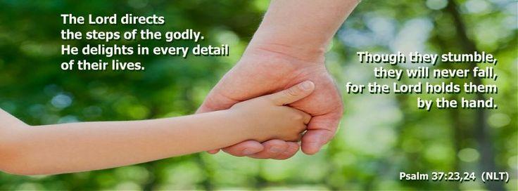 Psalm 37:23,24