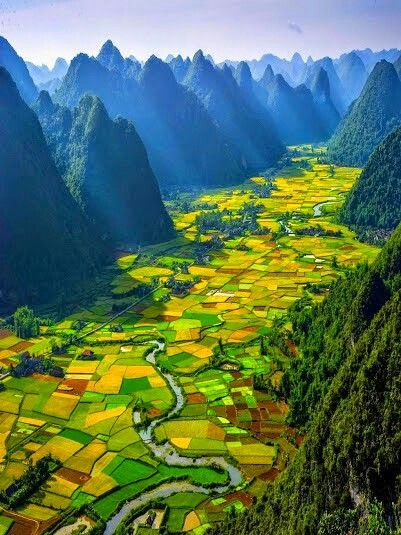 The beautiful colours of Vietnam