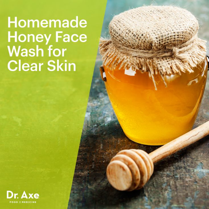 Homemade Honey Face Wash for Clear Skin     1 tbsp coconut oil     3 tbsp honey     1 tbsp apple cider vinegar     20 drops melaleuca essential oil     2 capsules of Live Probiotics