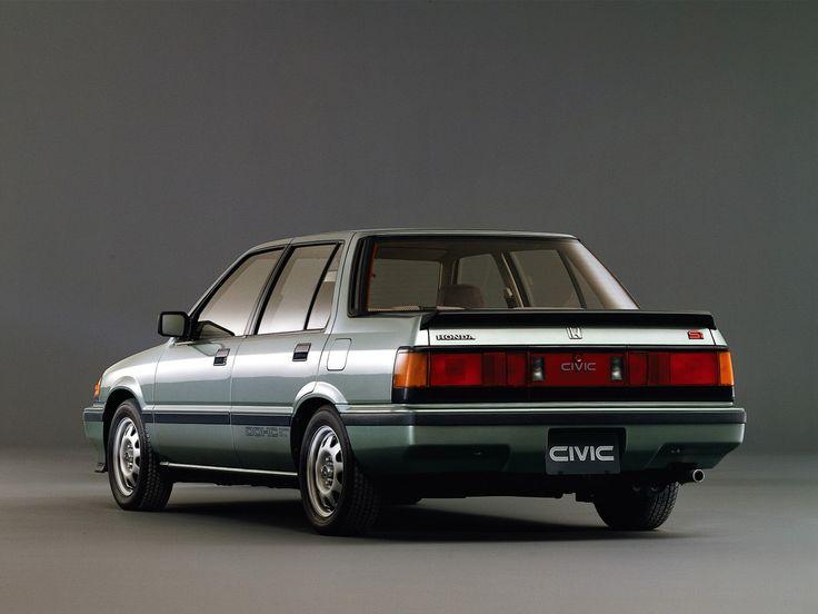 1985 Honda Civic Si Sedan - Awesome!
