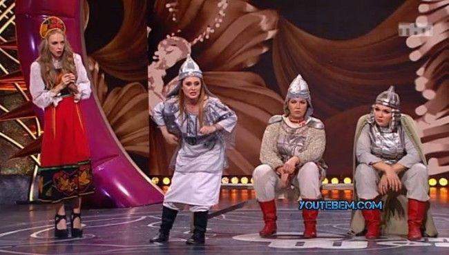 Камеди Вумен — Богатырки  😄 😜 😂 👍 #видео #юмор #девушки #мужчины #женщины #приколы #хохмы #москва
