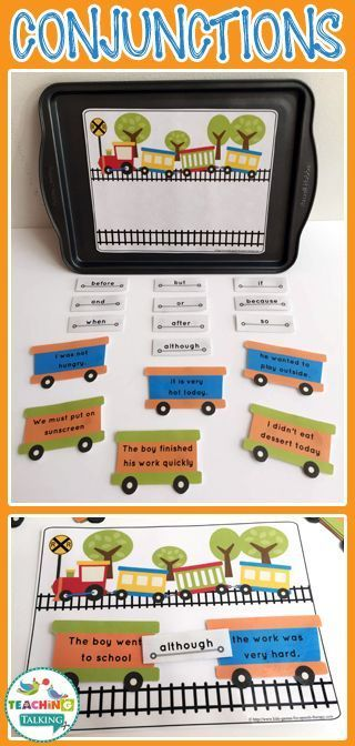Conjunction List - Conjunction Practice Games for Kids