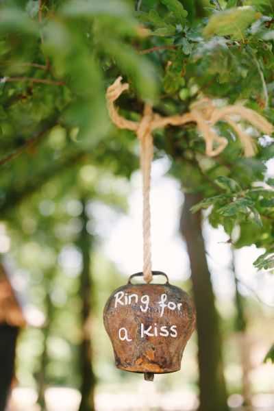 Cute wedding idea! http://www.stylemepretty.com/destination-weddings/2014/10/28/boho-chic-netherlands-wedding-at-het-reirinck/ | Photography: Youri Claessens - http://fotograafbruiloften.nl/