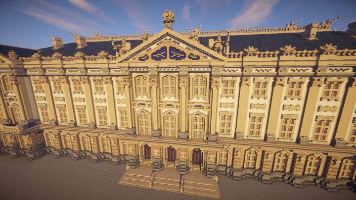 Amber Palace [Download] Minecraft Project