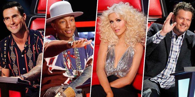 """Christina Aguilera voltará ao """"The Voice EUA"""" na 8ª temporada http://angorussia.com/entretenimento/fama/christina-aguilera-voltara-ao-the-voice-eua-na-8a-temporada/"""