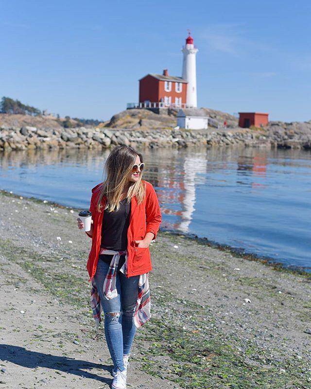 First lighthouse on the Canadian West Coast  #fisgardlighthouse