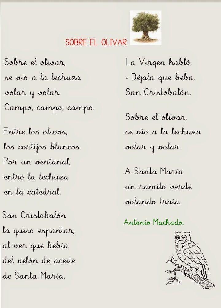Sobre El Olivar De Antonio Machado