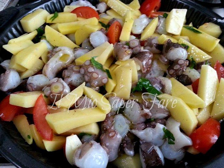 Polpo patate al forno ricetta facile secondo piatto di pesce il mio saper fare