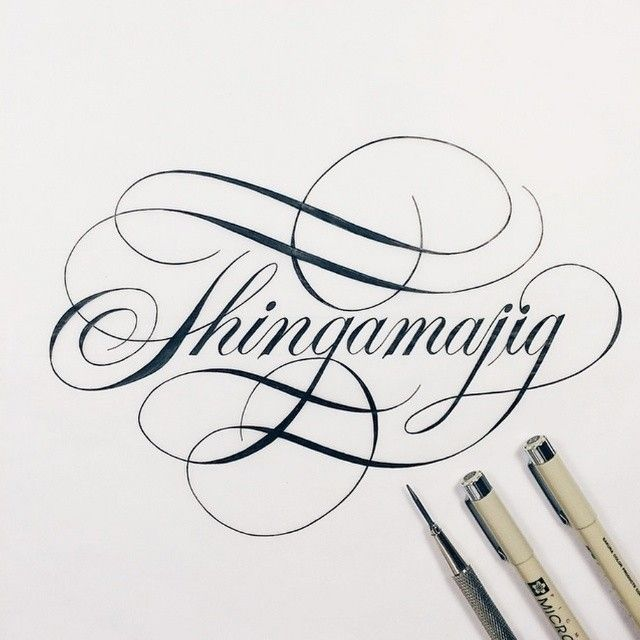 Pretty amazing lettering by the very talented @christophercraig_ !