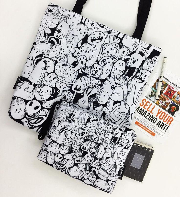 RANDOM THINGS oleh @tikatato di Creative United. Dapatkan illustrasi doodle yang comel ini di #totebag #pouch #mug #slingbag #drawstringbag di sini: http://ift.tt/2mynoFh . Klik link di bio @creativeunited.my untuk melihat pelbagai lagi karya-karya hebat oleh artis pelukis dan pereka indie tempatan di art marketplace terbesar di Malaysia! Follow kami untuk santapan inspirasi kreativiti setiap hari. Pamer dan jualkan karya seni anda sebagai produk menarik di Creative United tanpa kos. Sertai…