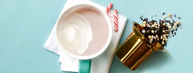 Candy Cane Crush Tea Latte - Steep Thoughts