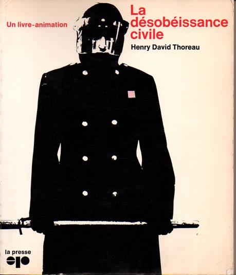 Thoreau aux éditions La Presse. Autres temps, autres moeurs...