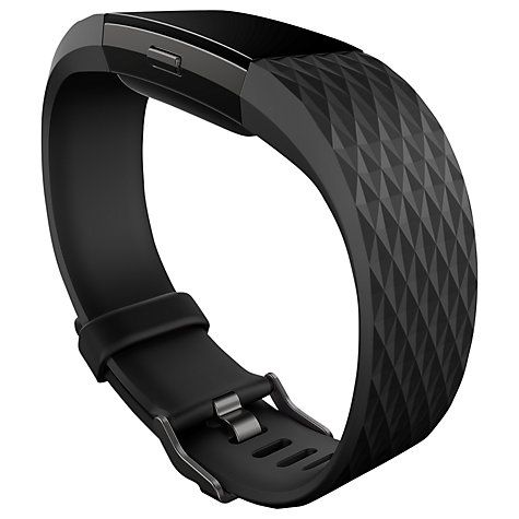 Buy Fitbit Charge 2 Heart Rate and Fitness Tracking Wristband Special Edition, Large Online at johnlewis.com