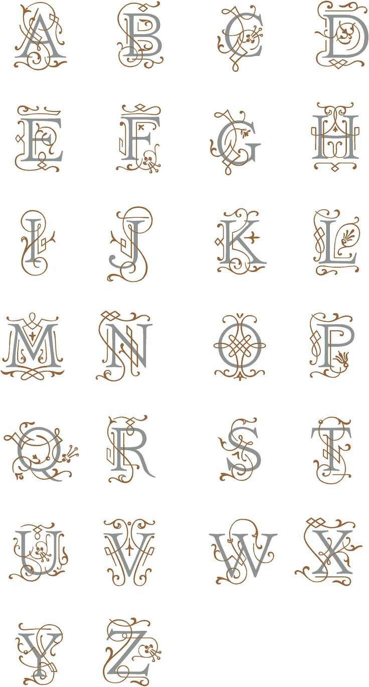 91 best decals images on pinterest headboards wall stickers and this is an elegant monogram design that allows for a single color or an optional second color for more contrast