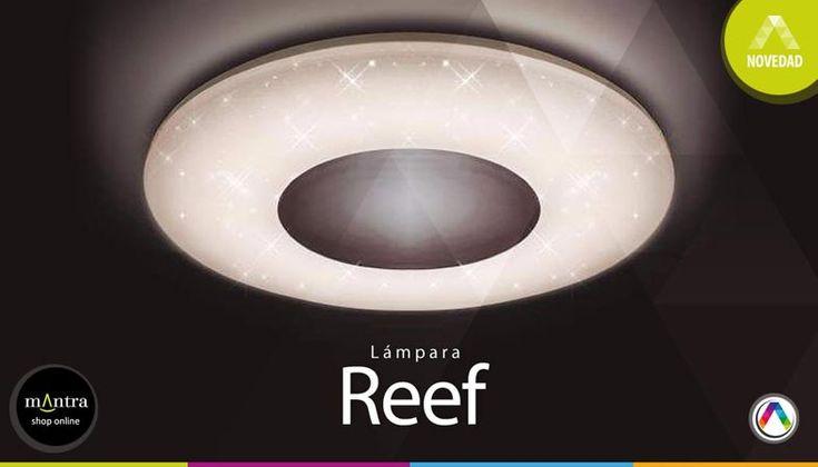 Top 5 Novedades en lámparas plafón de techo - Plafón Reef - La Casa de la Lámpara