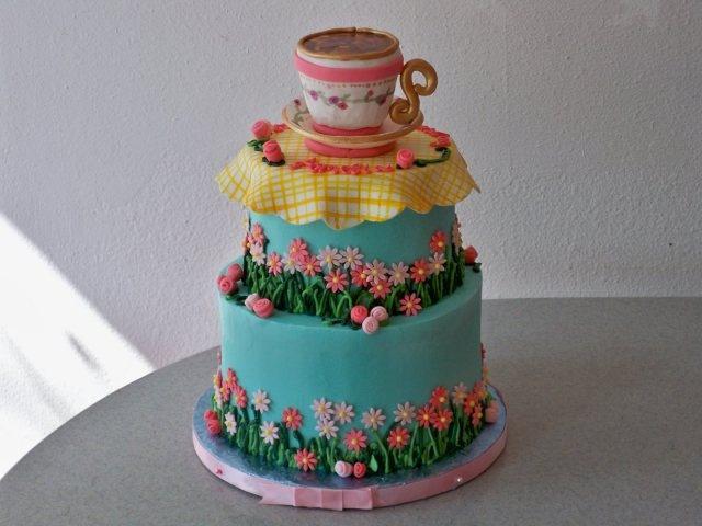 Birthday Tea Cake