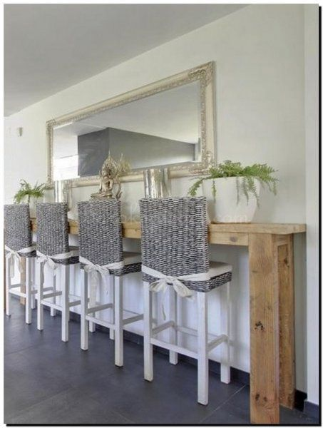 23 best images about zilveren spiegel on pinterest for Spiegel boven dressoir