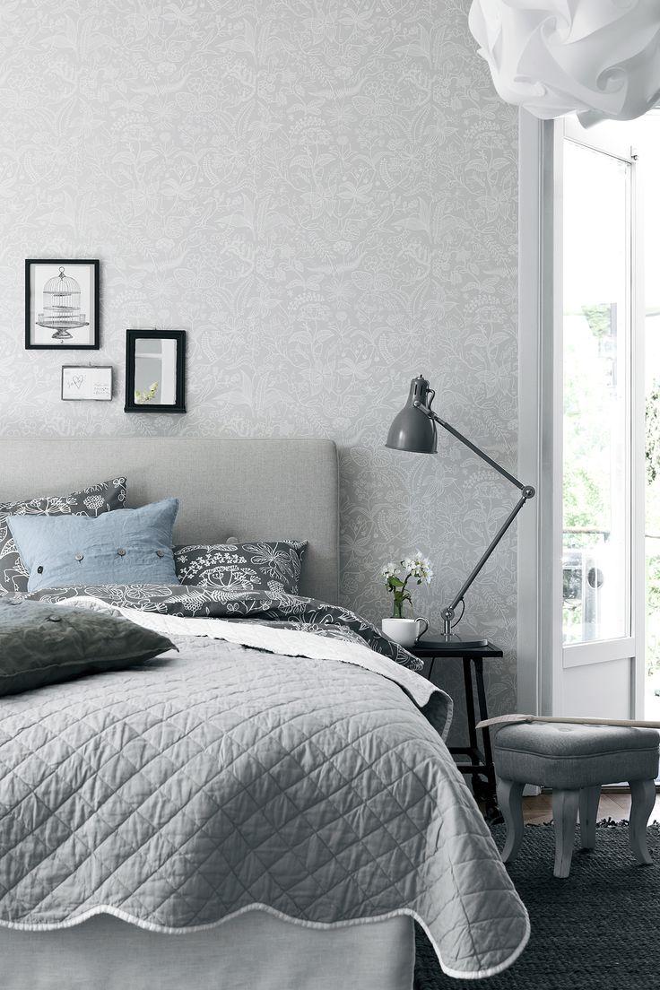 Boråstapeter, Scandinavian Designers -mallisto, malli 2745, neljäi värivaihtoehtoa. Värisilmä, www.varisilma.fi