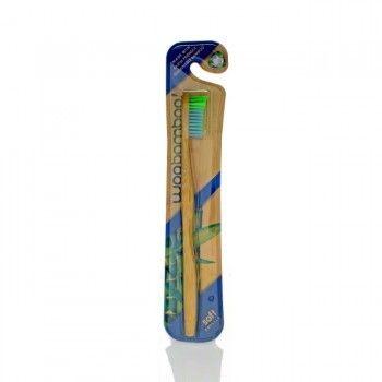 Brosse à dent avec manche en bambou compostable