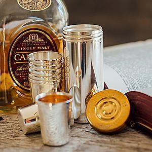 Culinary Concepts Set of 8 Stirrup Shot Cups & Cartridge Holder #kaleidoscope #garden