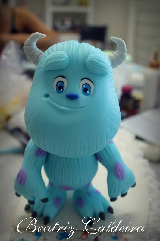 Porcelana fria monster inc