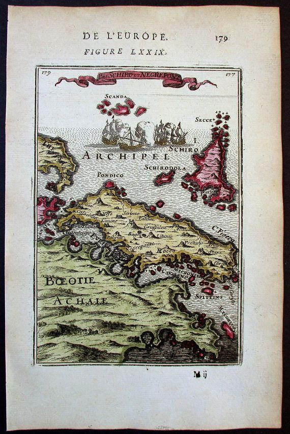 1683 Euboea Evia Skyros Skyropoula Pondico Sporades