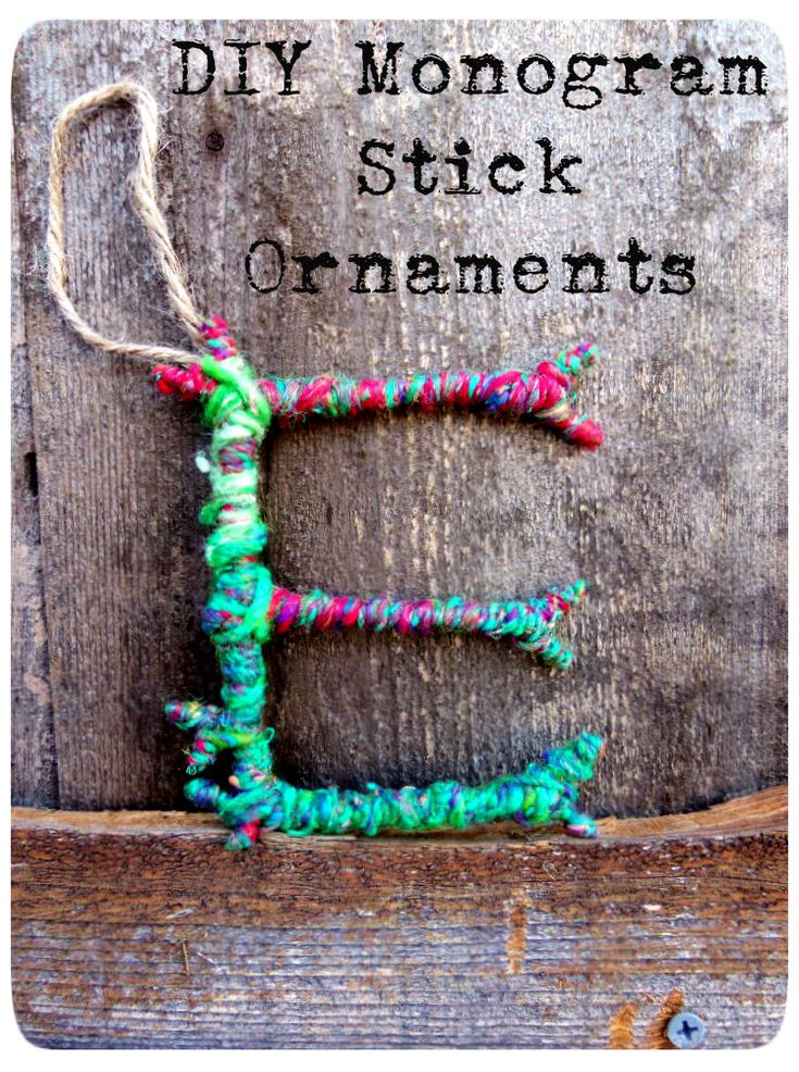 Yarn Ornaments to make at home, using only four things: (Great for the holiday season) 1.) Yarn 2.) Wire 3.) String 4.) Yarn