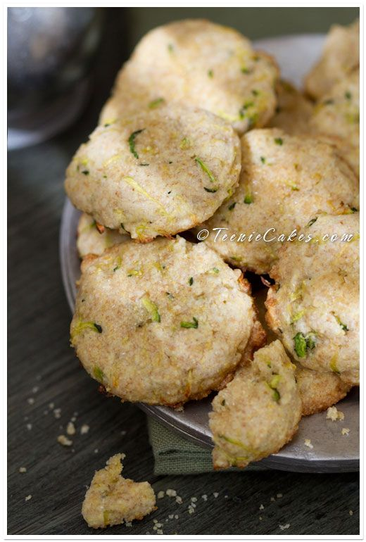 Lemon Zucchini Cornmeal cookies!