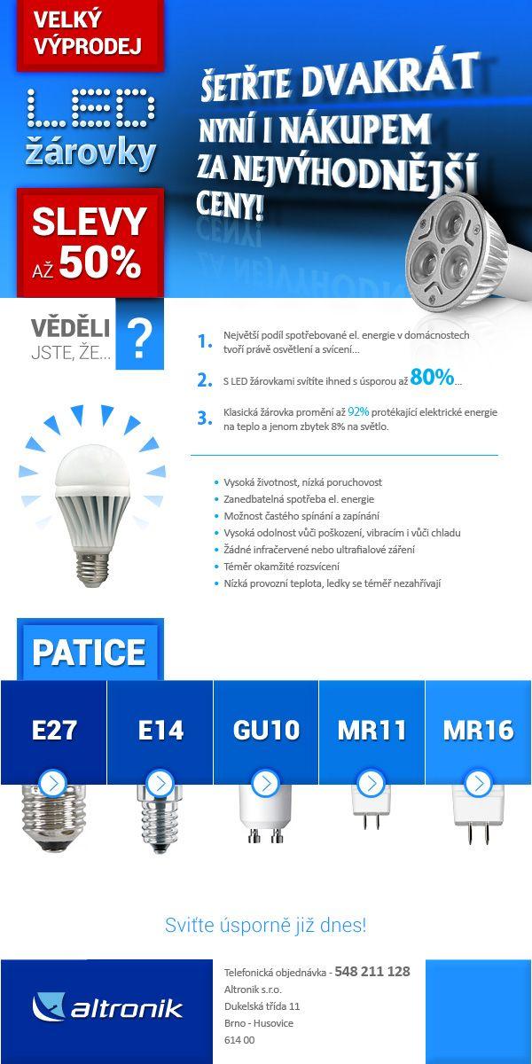 Newsletter - Výprodej LED osvětlení