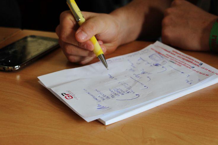 La FAC (Fédération des Associations de l'université de Créteil) utilisent les Bloc-Notes Goldiprint pour ses ateliers !  LIENS : ►http://www.fac-creteil.fr/ ►goldiprint.com