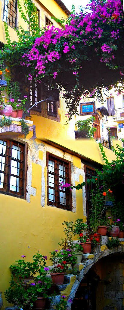 Hania, Crete, Greece. Beautiful!!  Greece is one of my top favorite places to visit. So beautiful, so much history!