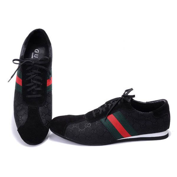 gucci shoes black. gucci women\u0027s sneakers in black http://www.luxurydressesbox.com/gucci shoes