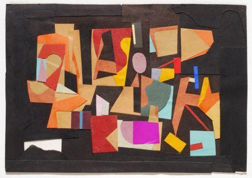 Ad Reinhardt, Paper Collage, 1930: Collage 1939, Ads Reinhardtpaint, Collage Art, Abstract Art, Collage 1930, Ads Reinhardt Paintings, Paper Collage, Abstract Expressionist, Expressionist Collage