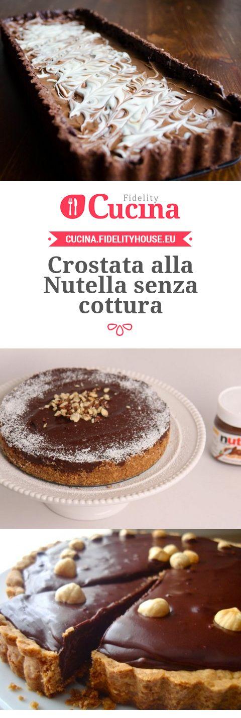 Crostata alla Nutella senza cottura