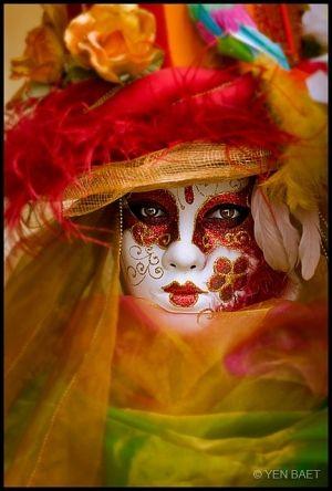 Venice Carnival by jannyshere