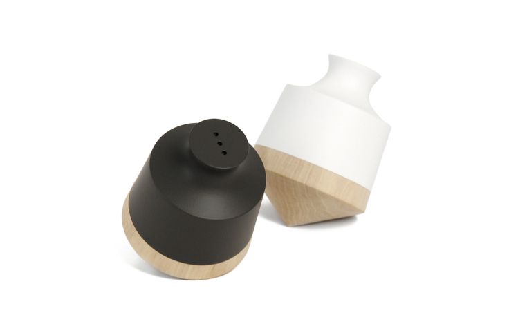 Salt celler/pepper shaker by Y'A PAS LE FEU  https://goo.gl/CTrEG9 #geniusdesign_international #geniusdesign #gift #Motherday