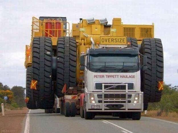 Oversize loads on outback roads. | 35 Problems All Australians Know