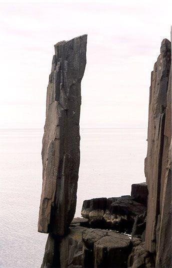 Balancing Rock, Long Island, Nova Scotia Annapolis Valley Walking Trail