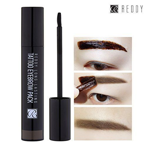 REDDY Long Lasting Tattoo Eyebrow Pack 10g, Peel-Off 7 Days Eyebrow Tint Gel New #Reddy