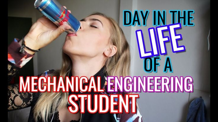 Day in the Life of a Mechanical Engineering Student | Engineering Study ...