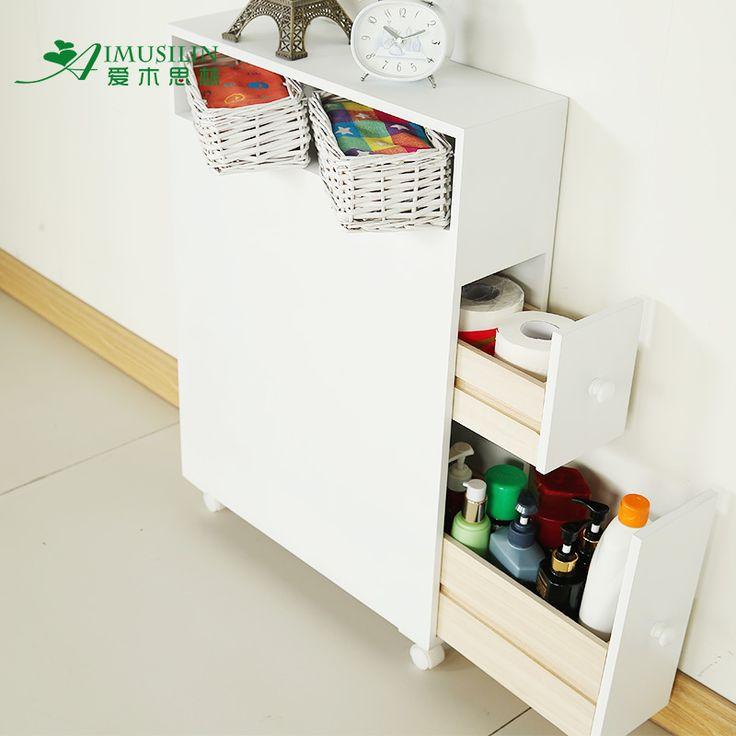 Vloer opslag opbergkast wc kant kast hoekkast pompen papier kast badkamermeubel badkamermeubel waterpr in  van kinderen kasten op AliExpress.com | Alibaba Groep
