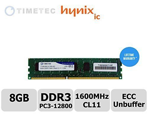 timetec 8gb module dual rank pc3 12800 ddr3 1600cl11 2rx8