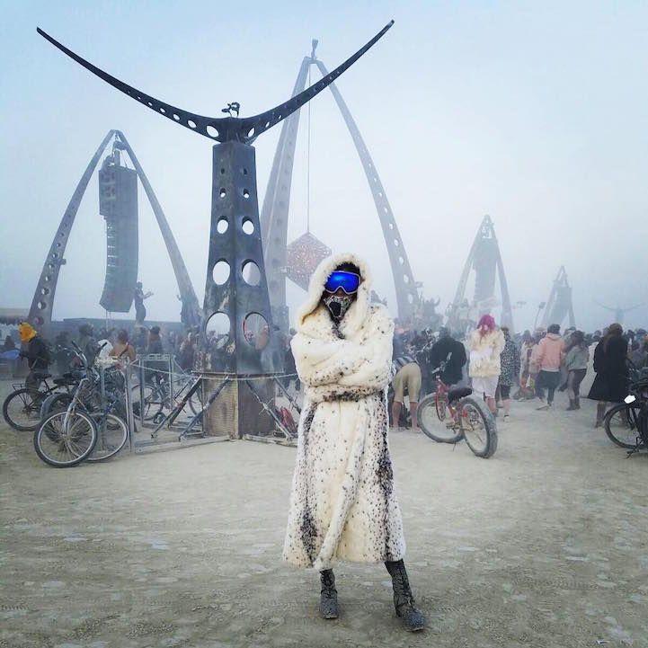 27 Fotos La captura de Burning Man de 2016 Creative and Carefree Cultura - Mi Modern Met